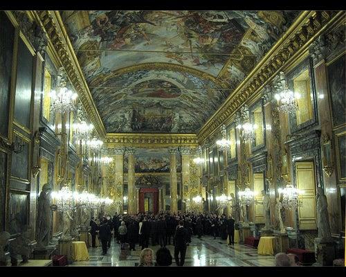 El Palacio Colonna en Roma, uno de los palacios más majestuosos del mundo