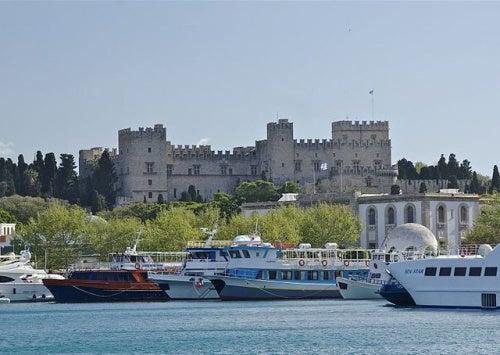 El palacio del Gran Maestre de las isla de Rodas y de Malta