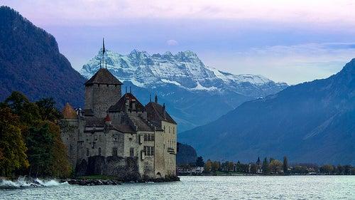 El Castillo de Chillon en Suiza, un viaje al pasado