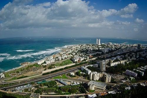 Haifa en Israel, una ciudad de hermosos parajes