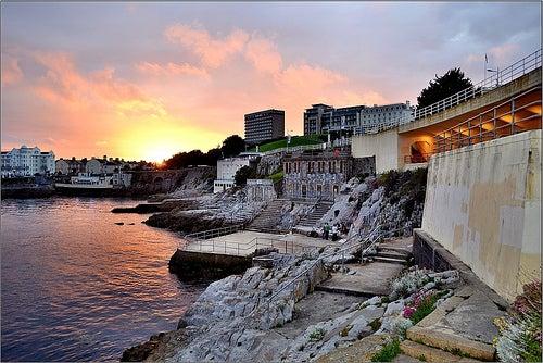 Plymouth en Inglaterra, una hermosa ciudad costera