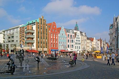 Rostock en Alemania, una ciudad de bella arquitectura