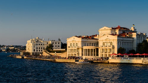 La hermosa ciudad de Sebastopol