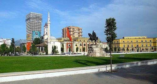 Tirana en Albania, una capital muy bonita