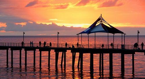 Disfrutando de las deliciosas playas de Adelaida en Australia
