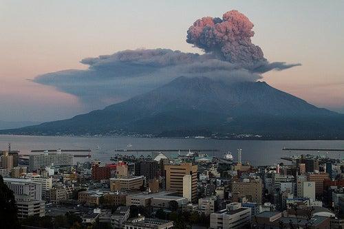 Kagoshima en Japón, tierra de naturaleza extrema
