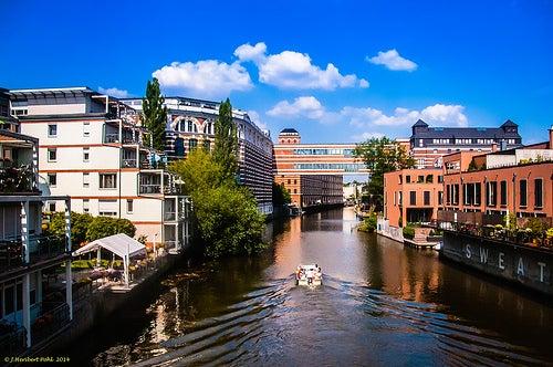 Lipsia en Alemania, color y belleza por doquier