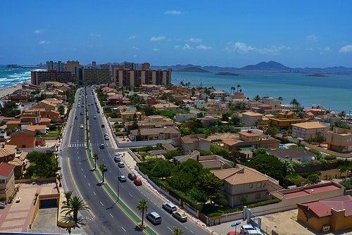 La bella ciudad de Murcia en España
