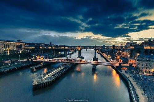 De visita a la hermosa ciudad de Newcastle en Inglaterra