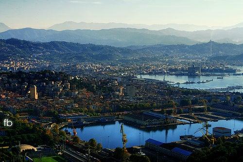 La bella ciudad italiana de La Spezia, el lugar elegido por los poetas