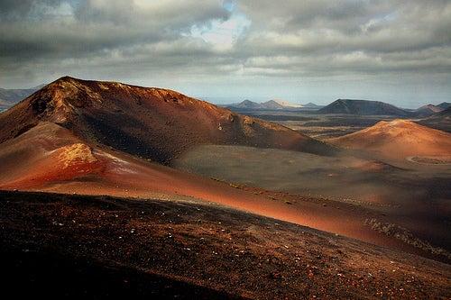 Lanzarote paraíso natural en las Islas Canarias. Reserva de la Biosfera por la UNESCO