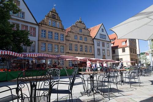 Los rincones de Bielefeld, una hermosa ciudad de Alemania