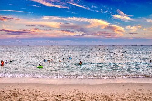 Deliciosos días de disfrute en las playas de China