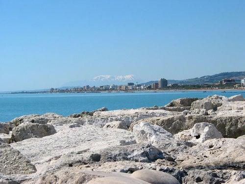 La ciudad de San Benedetto de Tronto, un paraíso en la costa de Italia
