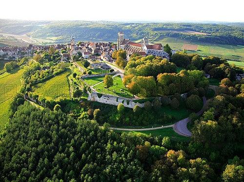 Vézelay uno de los más bellos pueblos de Francia