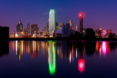 Bienvenidos a la espectacular ciudad de Dallas, Estados Unidos