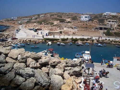 Las islas griegas de Donoussa y Koufonisia, las pequeñas de las Cíclidas
