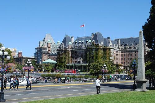 Victoria y sus hermosos edificios, uno de los sitios espectaculares de Canadá
