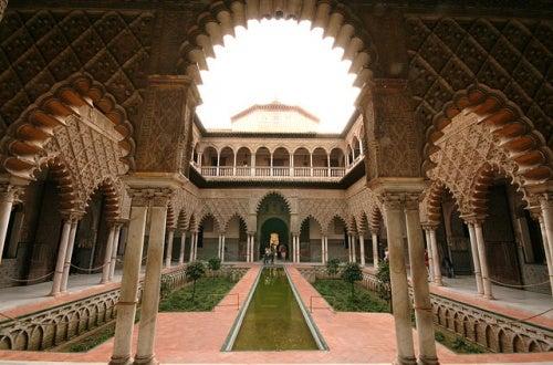 Los Reales Alcázares de Sevilla, sacados del cuento de las mil y una noches