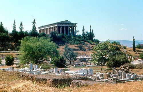 Templo de Hefesto y Atenea Egarné