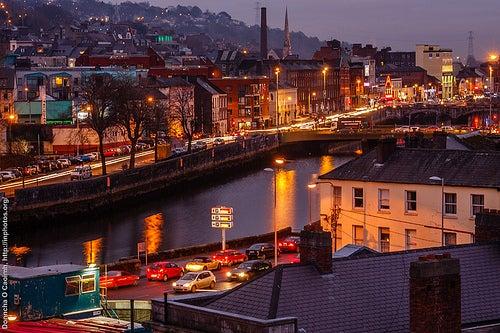 De visita a la ciudad de Cork en Irlanda