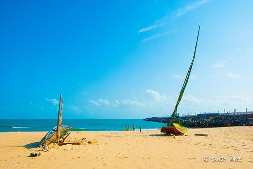Siente el calor de las playas de Brasil en la ciudad de Fortaleza