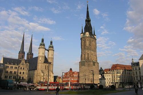 Disfrutemos la hermosa ciudad de Halle en Alemania