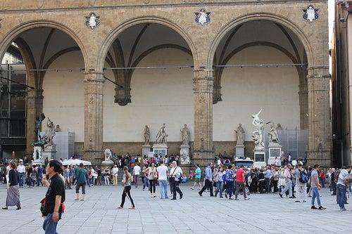 LaLoggia della Signoria en Florencia, un lugar histórico