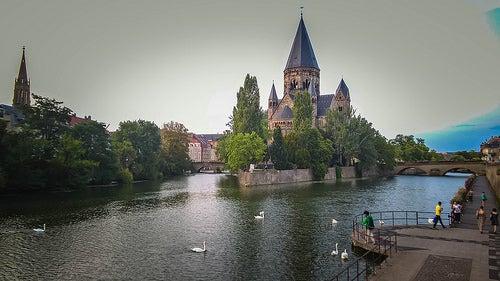 Metz, una ciudad medieval de Francia que te cautivará