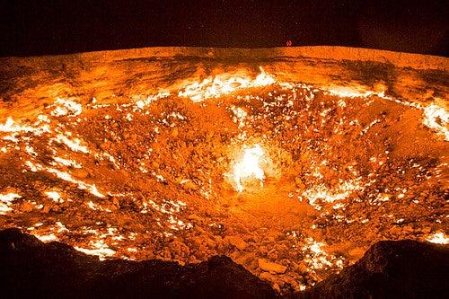 El Pozo de Darvaza, una gran aventura en Turkmenistán