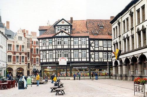 Quedlinburg, una ciudad de bella arquitectura en Alemania