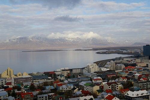 Demos un interesante paseo por Reikiavik, la capital de Islandia