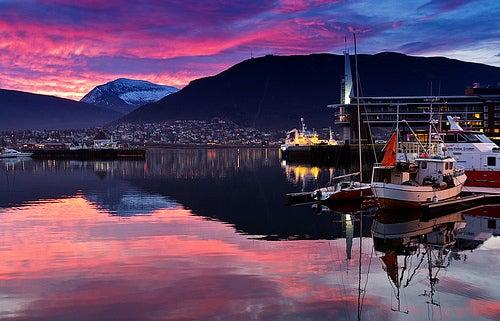 Tromso, uno de los hermosos lugares extremos de Noruega