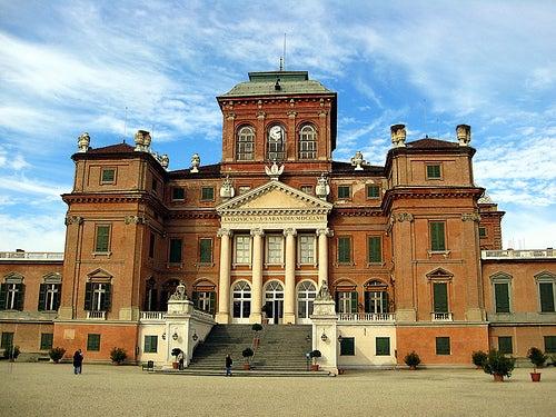 El bello castillo de Racconigi en Italia, toda una obra de arte