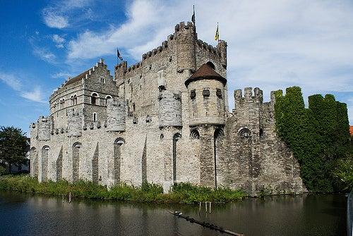 El castillo de los Condes de Gante, el emblema de Bélgica