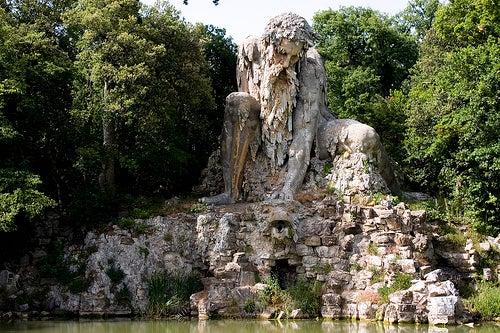 El Colosso dell'Appenninoen Florencia, la misteriosa obra de Giambologna