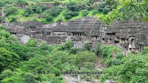 Las cuevas de Ajanta en la India, un lugar mágico