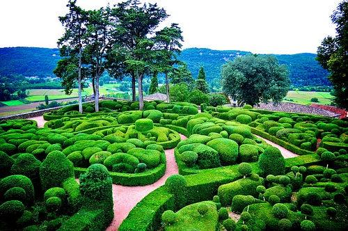 El jardín de Marqueyssac, un lugar de fantasía en Francia