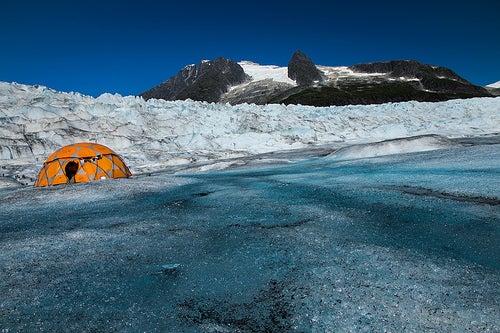 El impresionante Glaciar Mendenhall en Alaska