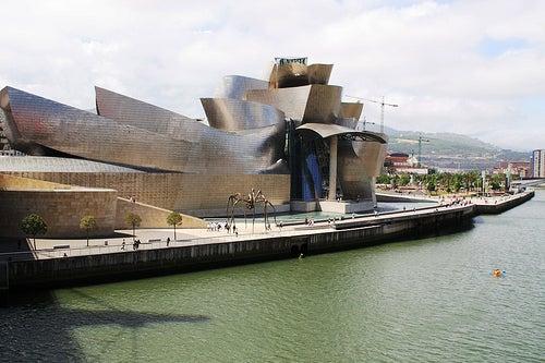 El fantástico Museo Guggenheim de Bilbao