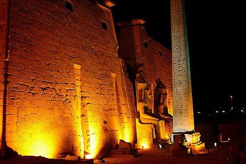 Luxor en Egipto, las fantásticas ruinas de un antiguo imperio