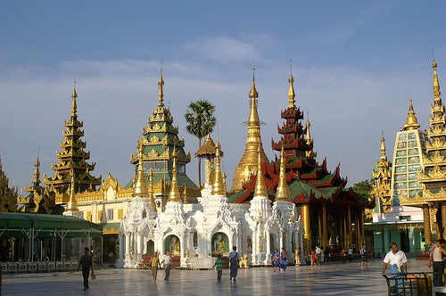 La indescriptible Pagoda Shwedagon en Birmania