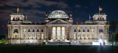 El edificio del Reichstag en Berlín, símbolo del poderío del imperio alemán