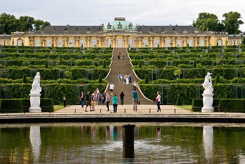 Sanssouci, uno de los hermosos palacios de Alemania