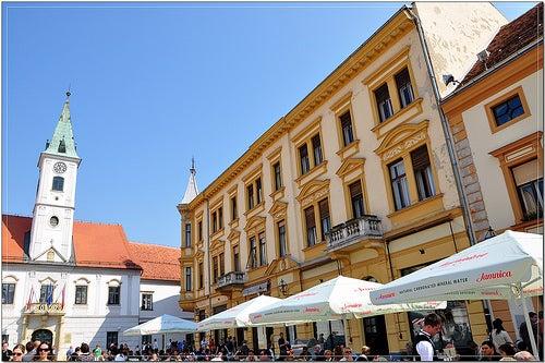 El encanto de Varazdin, una de las ciudades históricas de Croacia