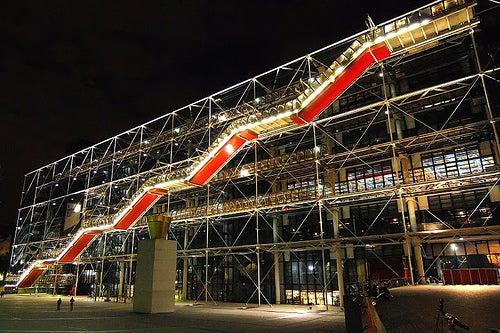 El Centro Pompidou de París, unlugar conarte y sofisticación
