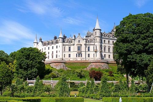 Dunrobin, uno de los bellos castillos de Escocia