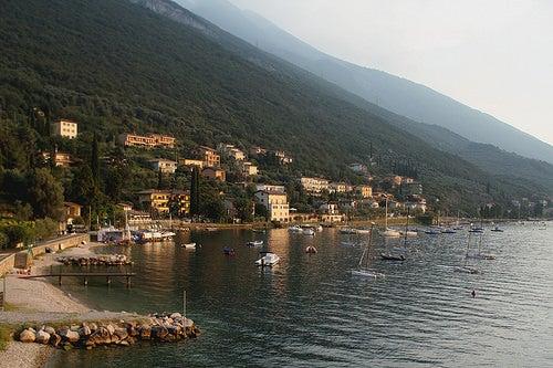 San Felice del Benaco, un bella localidad en el Lago de Garda de Italia