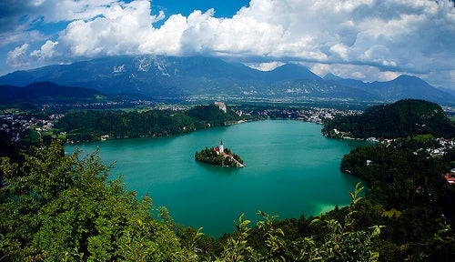 La delicia de recorrer Bled en Eslovenia