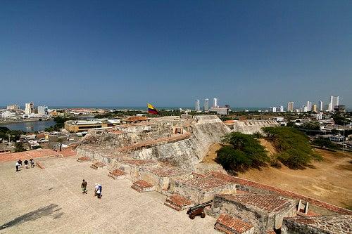 Castillo de San Felipe en Cartagena 2
